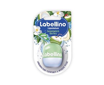 Labellino Coconut Water & Aloe Vera pečující balzám na rty 7 g
