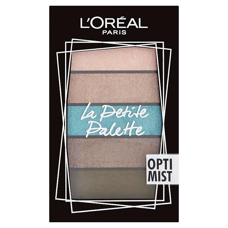 L´oreal Paris paletka očních stínů La Petite, 5 x 0,8 g Optimist