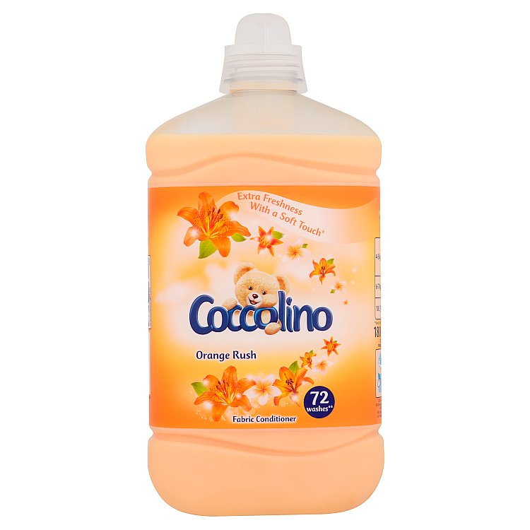 Coccolino aviváž Orange Rush, 72 praní 1,8 l