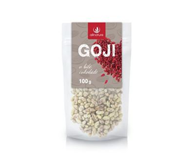 Allnature Goji v bílé čokoládě 100 g