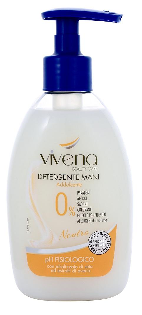 Vivena Detergente Mani tekuté mýdlo bez parabenů, silikonů a alergenů 300 ml