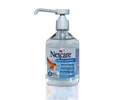 3M NexCare dezinfekční gel na ruce 500 ml