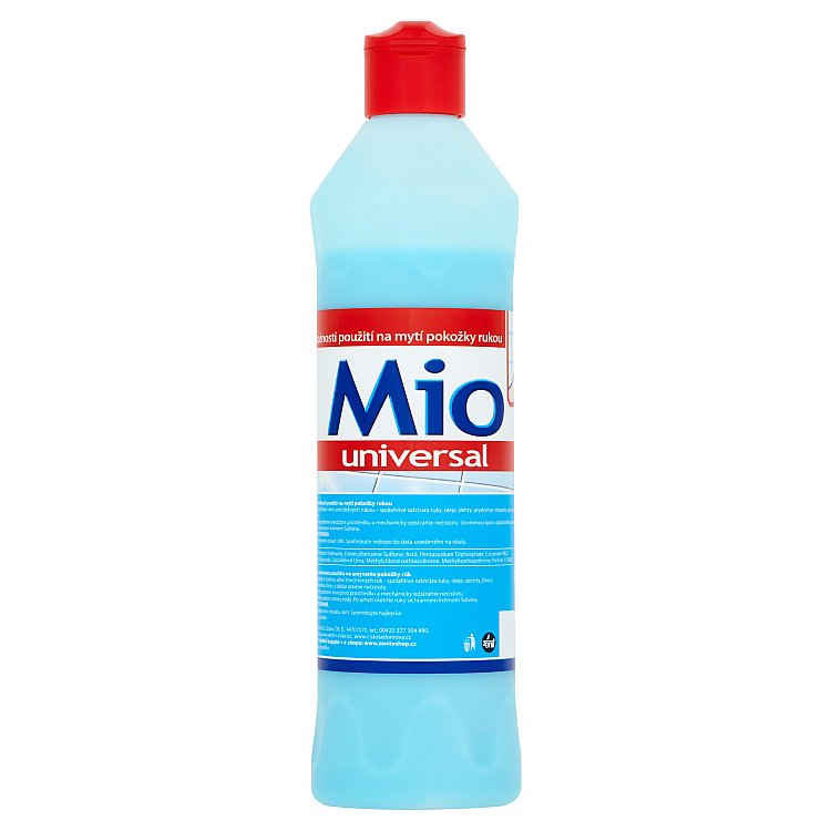 Fotografie Solvina Mio Universal tekutý mycí písek 600 g