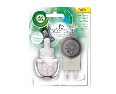 Air Wick Life Scents Elektrický osvěžovač vzduchu - strojek a náplň lesní potok 19 ml