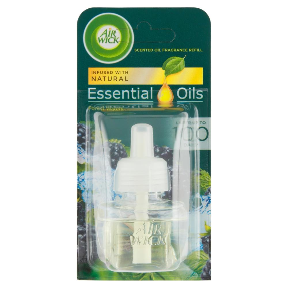 Air Wick Essential Oils náplň do elektrického přístroje lesní potok 19 ml
