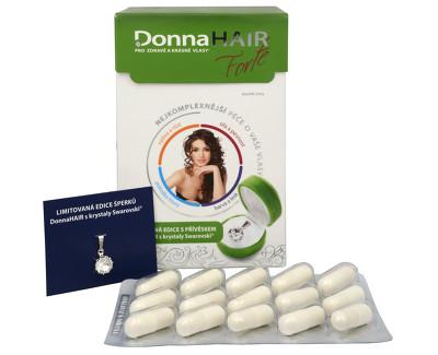 Donna Hair Forte 90 tob. + přívěšek Swarovski ZDARMA