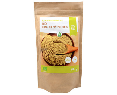 RAW BIO Hrachový protein 200 g