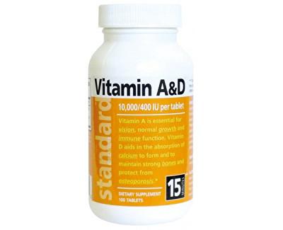 Natural SK Vitamín A/D 10 000/400 IU 100 tablet
