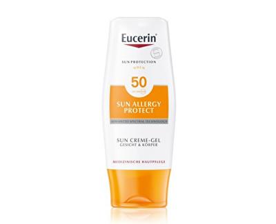 Eucerin ochranný krémový gel na opalování proti sluneční alergii SPF 50 150 ml