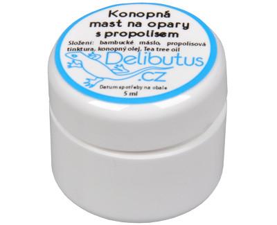 Konopná mast na opary s propolisem 4 ml