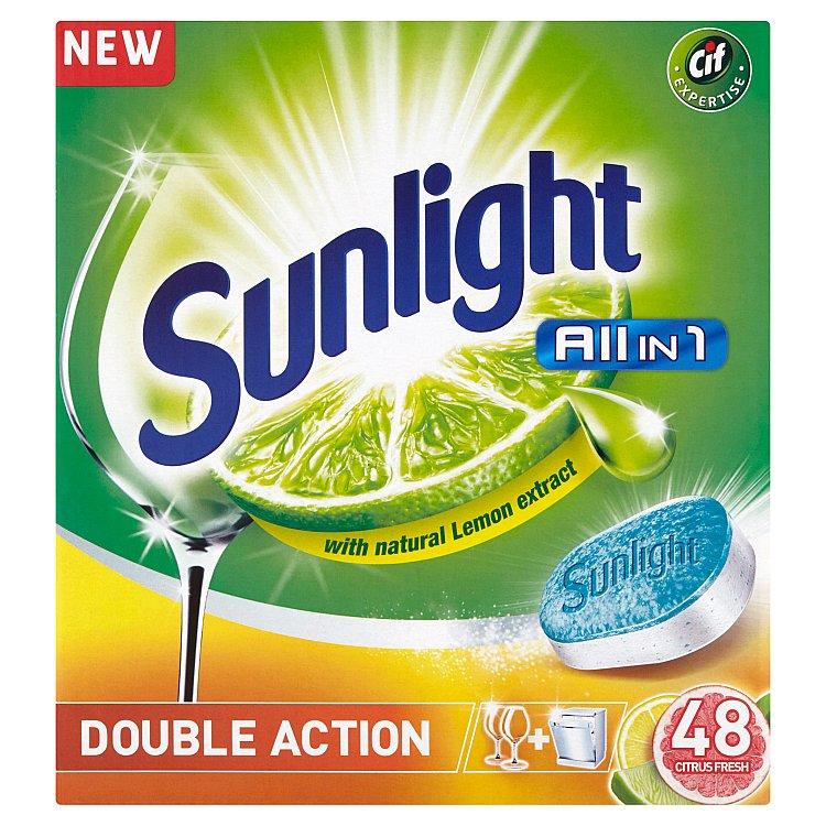 Sunlight All in One lemon 48 ks