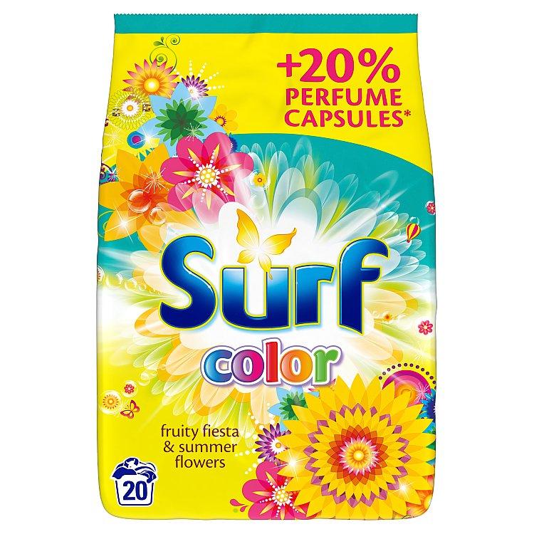 Surf Color fruity fiesta prací prášek, 20 praní 1400 g