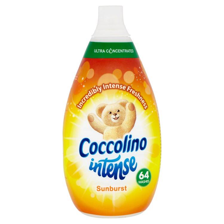 Coccolino Intense Sunburst aviváž, 64 praní 960 ml