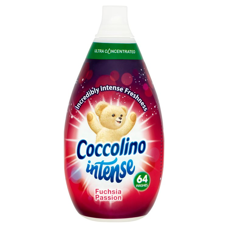 Coccolino Intense Fuchsia Passion aviváž, 64 praní 960 ml