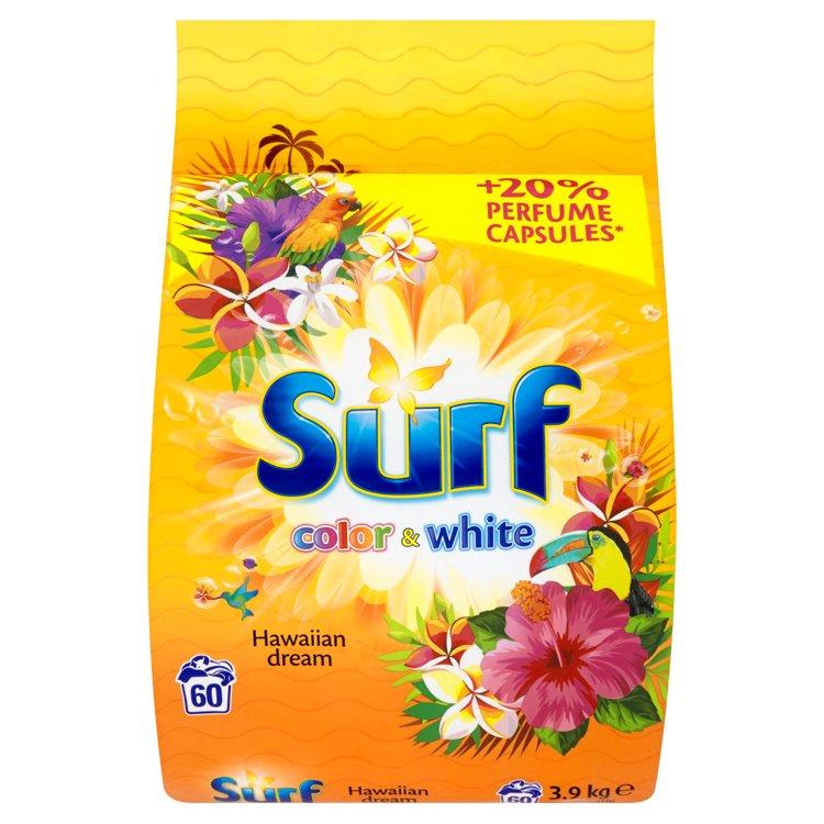 Surf Color + White hawaiian prací prášek, 60 praní 3,9 kg