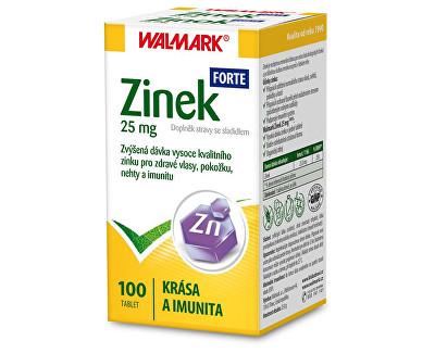 Zinek FORTE 25 mg 100 tbl.