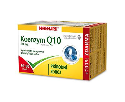 Walmark Koenzym Q10 30 mg 30 tob. + 30 tob. ZDARMA