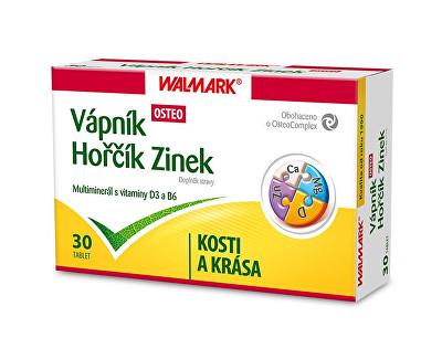 Vápník Hořčík Zinek OSTEO 30 tbl.