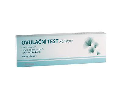 MedPharma Ovulační test Komfort 20mIU/ml 2 ks