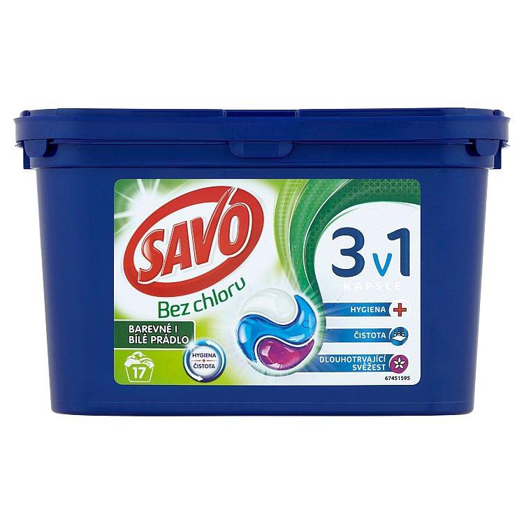 SAVO Universal trio kapsle na praní 17 praní