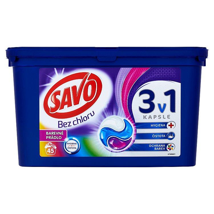Savo Color trio kapsle na praní 45 praní