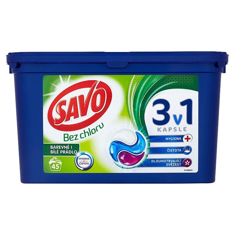 Savo Universal trio kapsle na praní 45 praní