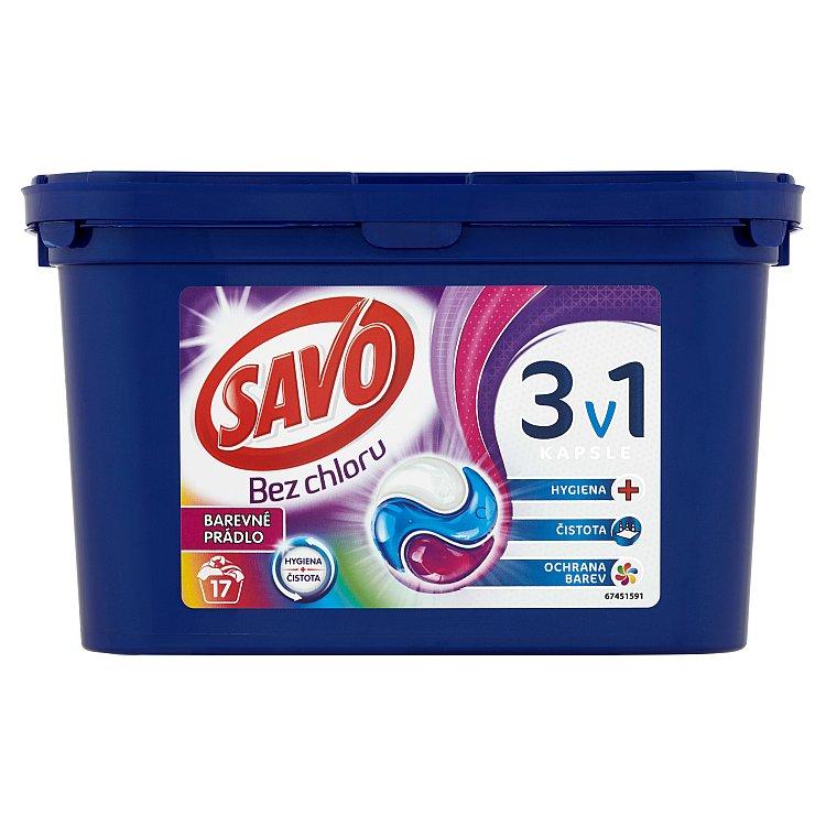 Savo Color trio kapsle na praní 17 praní