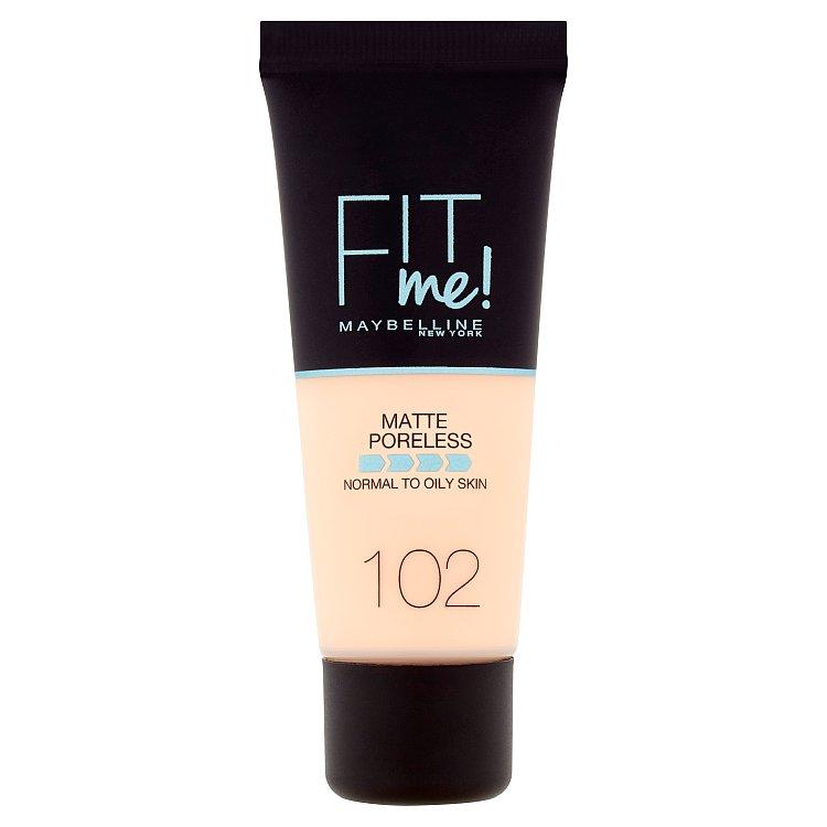Maybelline Fit Me! Matte+Poreless make-up 102