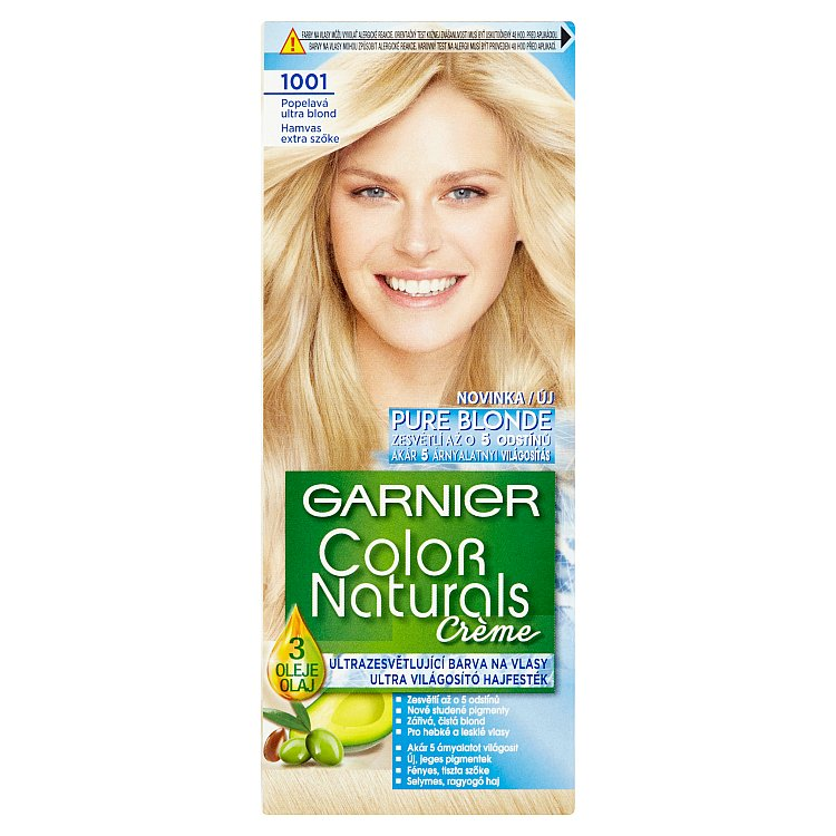 Garnier Color Naturals Crème Popelavá ultra blond 1001