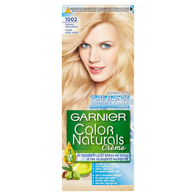 Garnier Color Naturals Crème Duhová ultra blond 1002