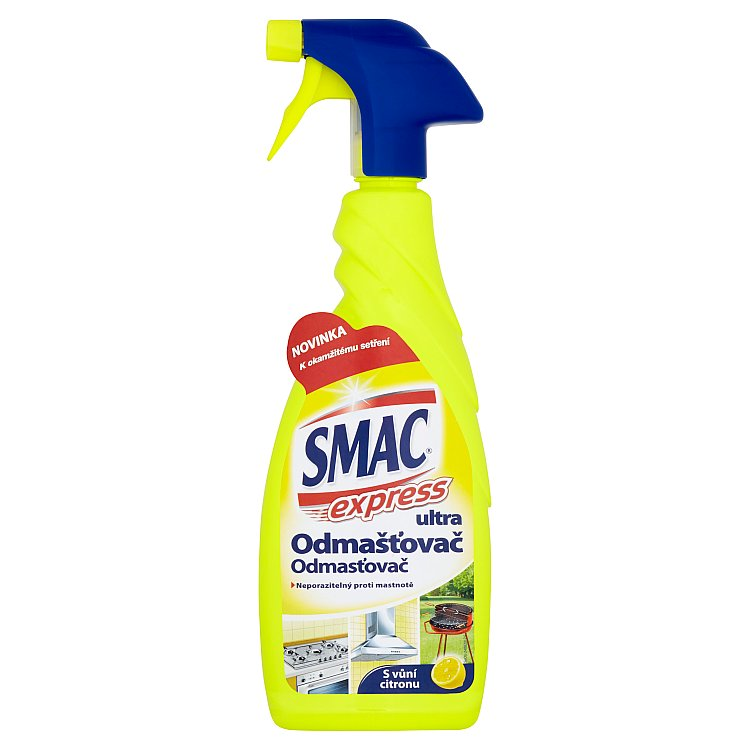 Smac Express Ultra odmašťovač lemon 650 ml