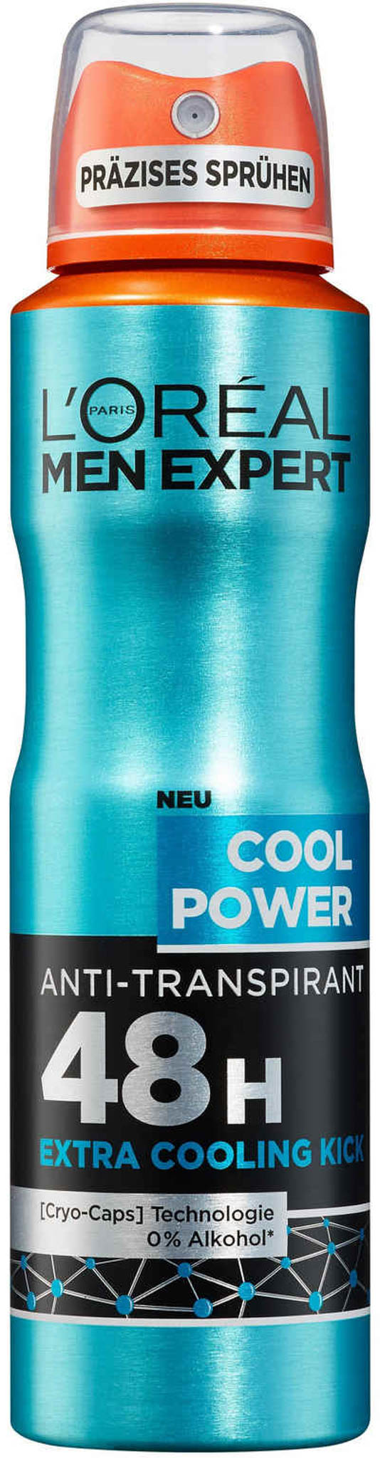 L'Oréal Paris Men Cool Power antiperspirant sprej 250 ml