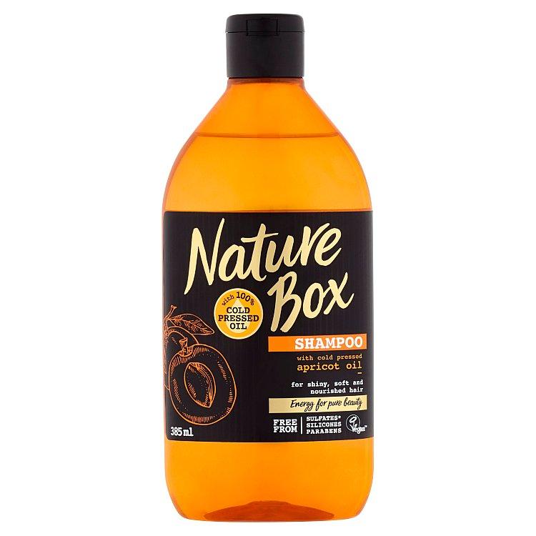 Nature Box šampon Apricot Oil 385 ml