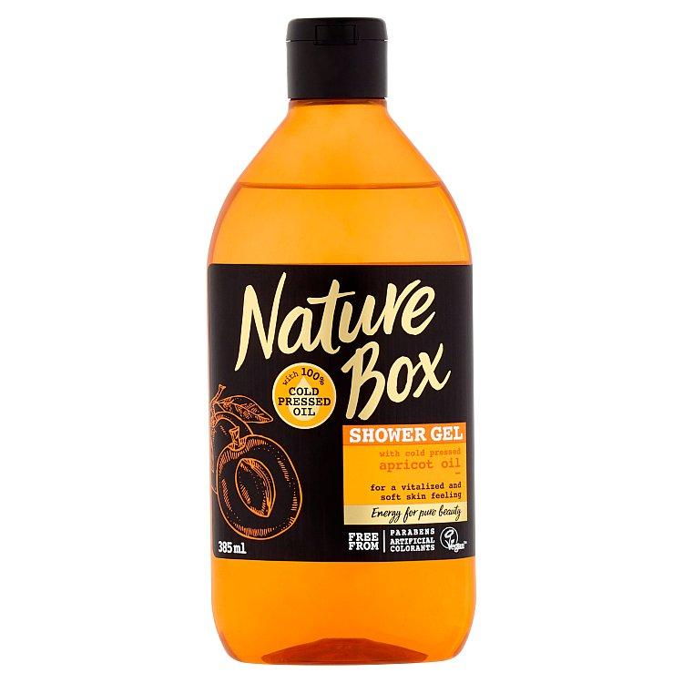 Nature Box sprchový gel Apricot Oil 385 ml