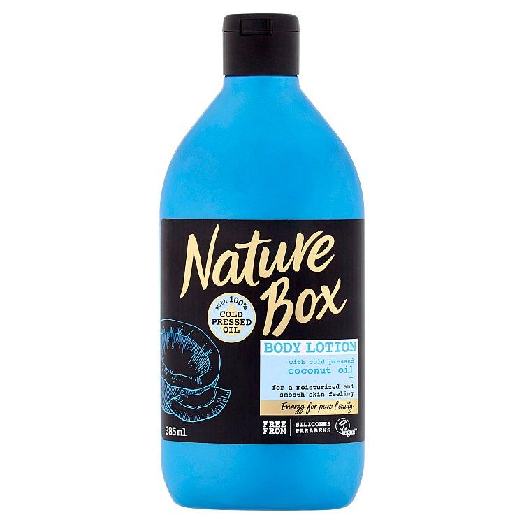Nature Box tělové mléko Coconut Oil 385 ml