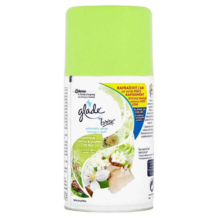 Glade by Brise Automatic Spray santalové dřevo & jasmín z Bali náplň 269 ml