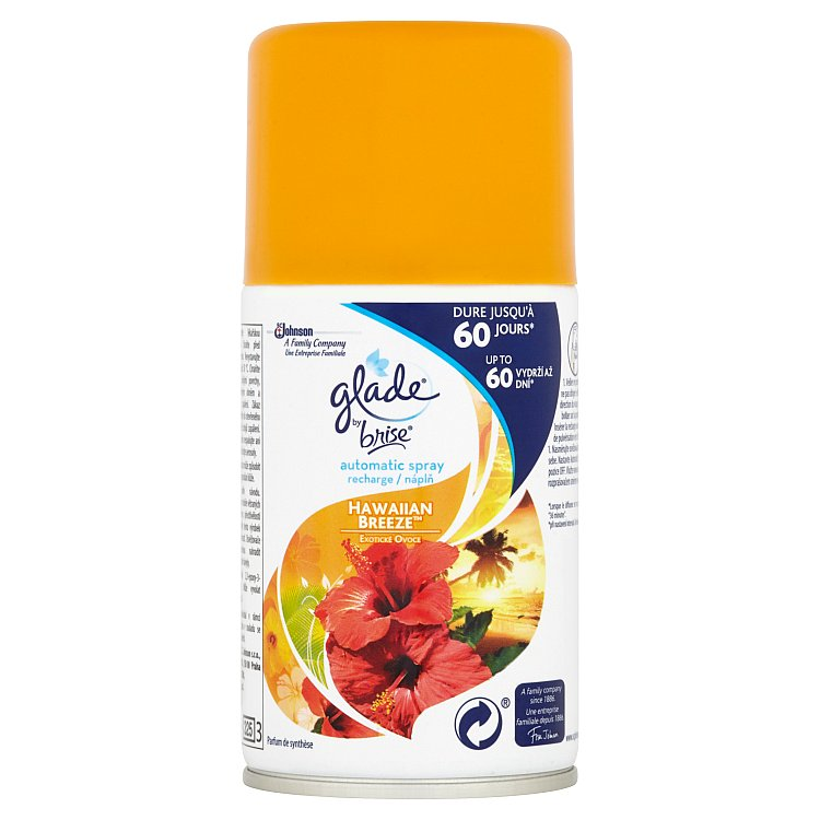 Glade by Brise Automatic Spray exotické ovoce náplň 269 ml