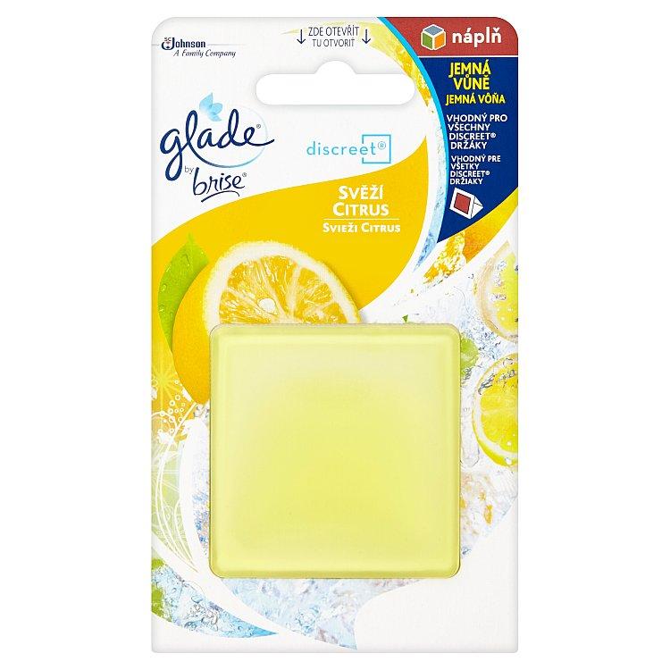 Glade by Brise Discreet Svěží citrus náhradní náplň 8 g