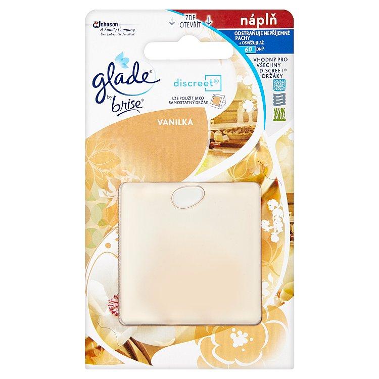 Glade by Brise Discreet vanilka náhradní náplň 8 g