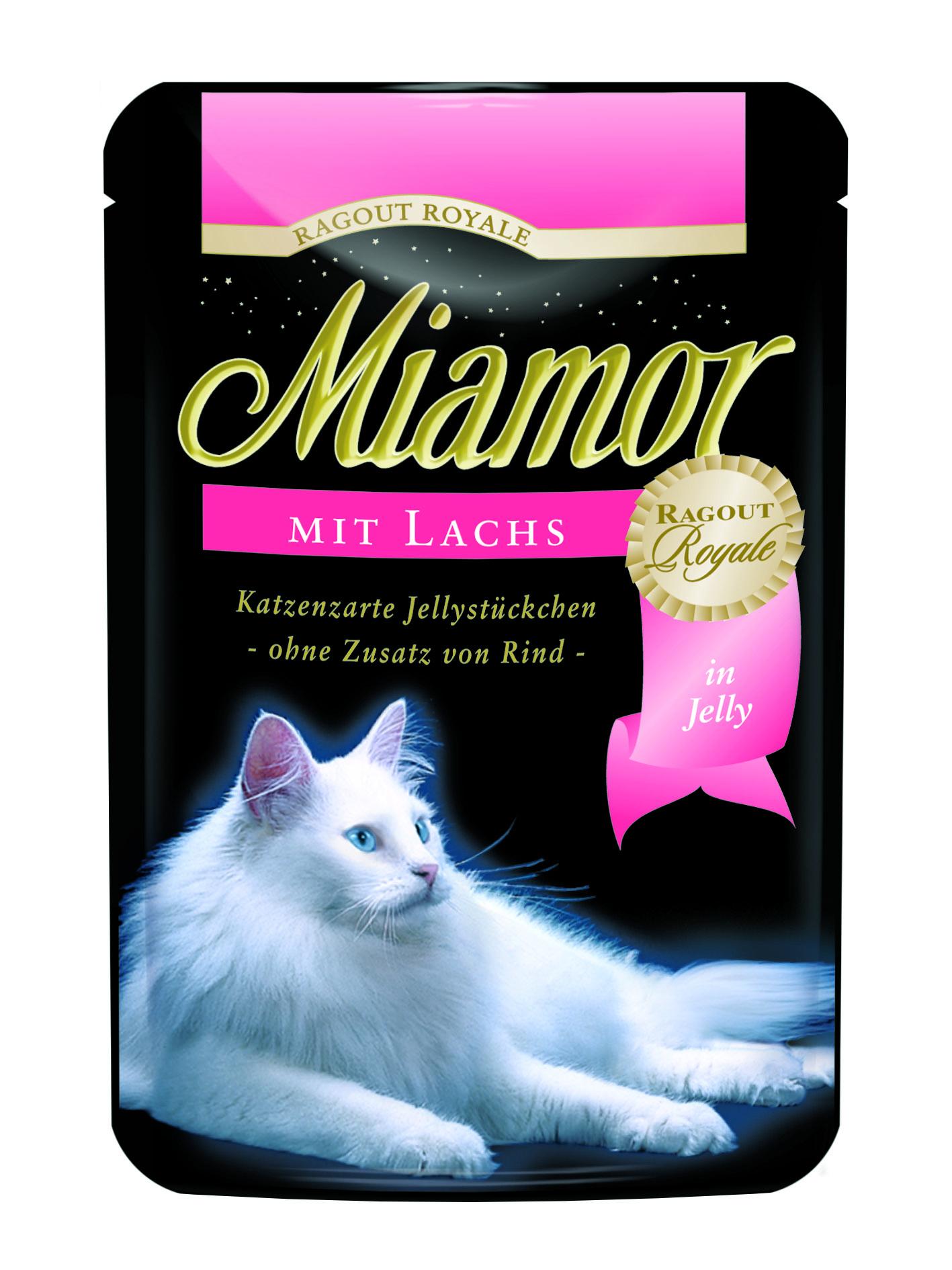 Finnern Miamor Ragout losos kapsička 100g