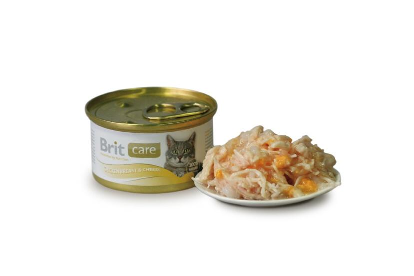 Fotografie Brit Care konzerva Chicken&Cheese 80g