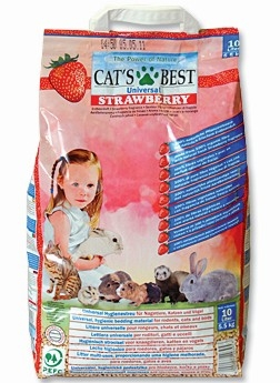 Cats Best Strawberry podestýlka 10l