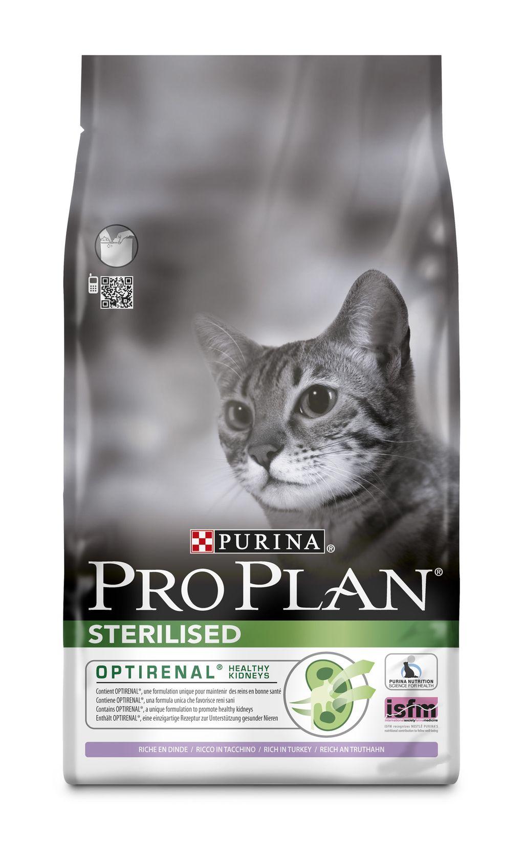 Fotografie Purina Pro Plan Cat Sterilised Turkey 10kg