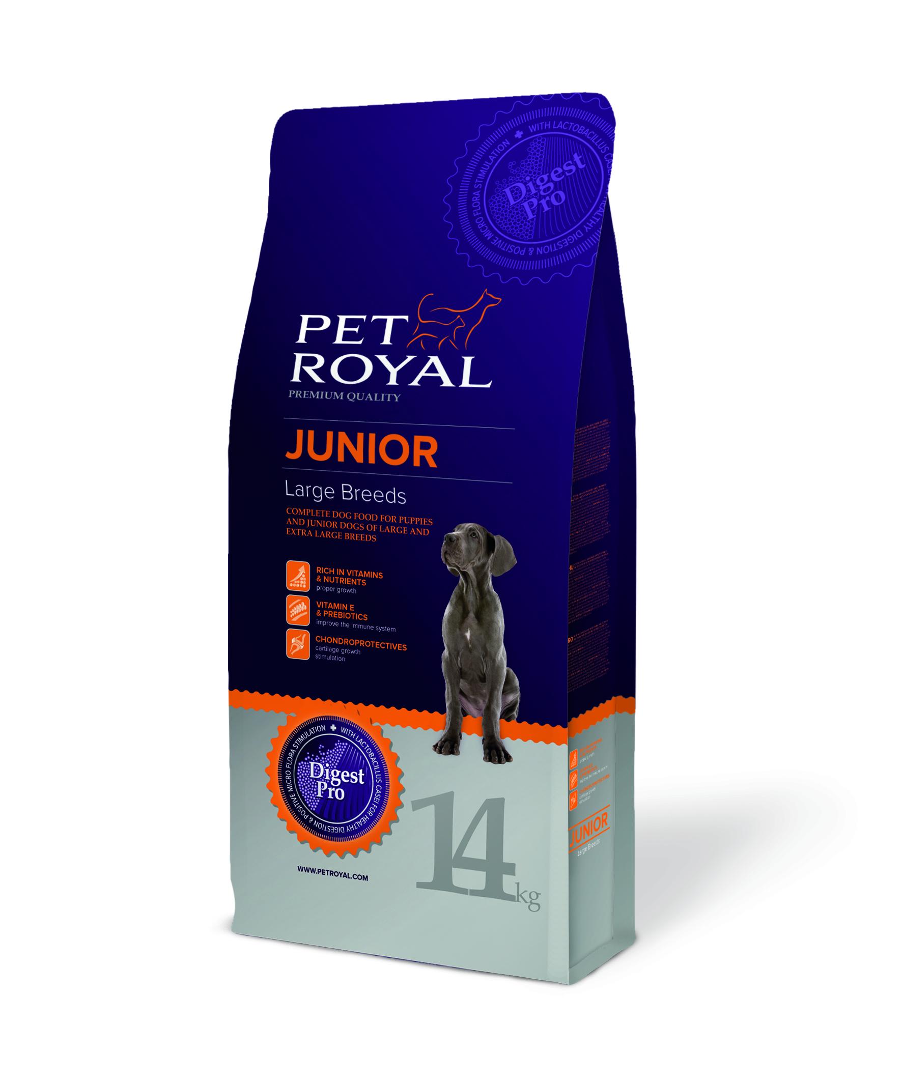 Pet Royal Junior Large Breeds pro štěňata velkých plemen 14kg