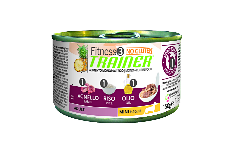 Trainer Fitness3 Adult Mini jehně+rýže konzerva 150g