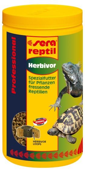 Sera doplňkové krmivo pro býložravé plazy Reptil Professional Herbivor 1000ml