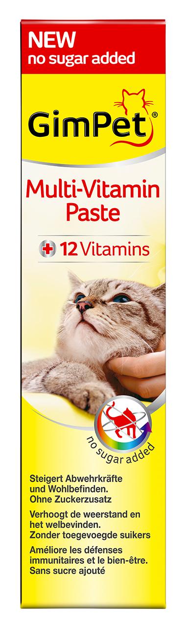 Gimpet Multi-Vitamin multivitamínová pasta pro kočky 100g