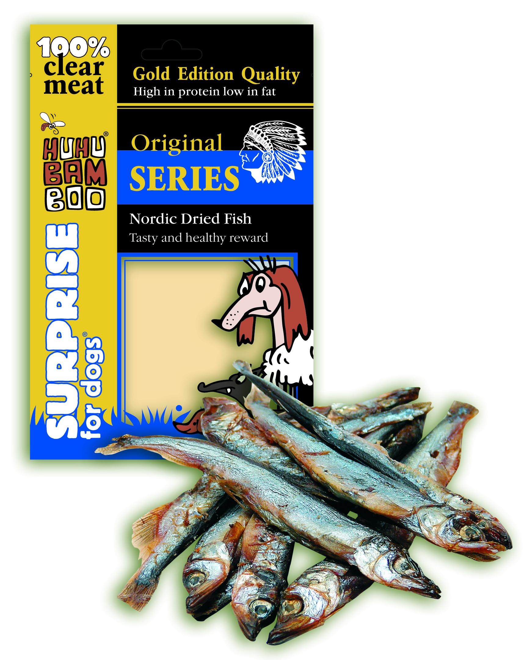 Huhubamboo Gold Edition Quality - Sušené rybičky 60g