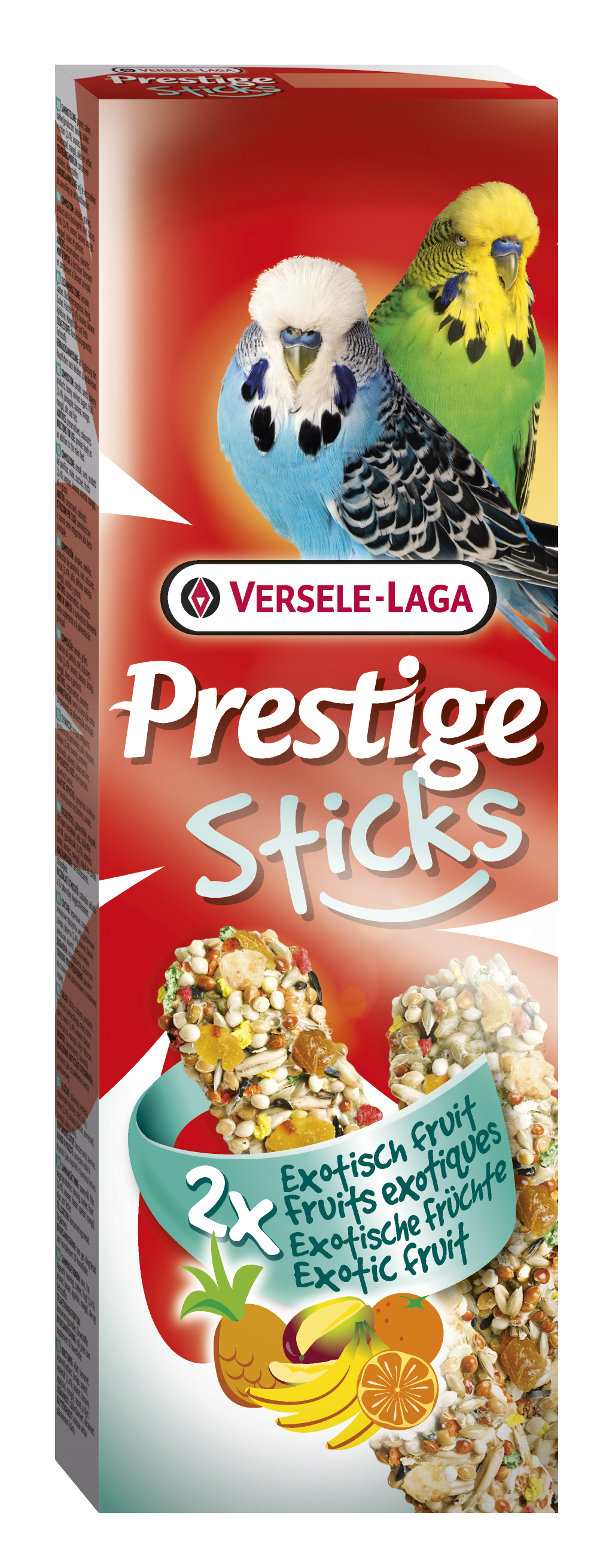 Versele-Laga Sticks Exotic Food tyčinky pro andulky 2ks