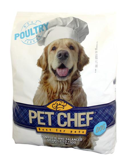 Pet Chef Dog drůbeží 10kg